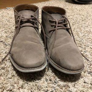 "Clark's chukka shoe ""Brown Nubuck"""
